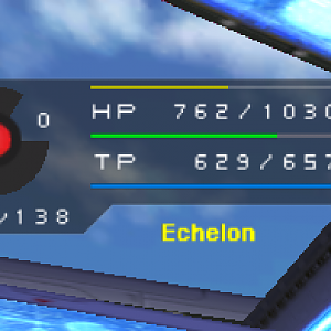 HUD With Exp Bar