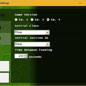 Magatama Beta 8 : Settings - General