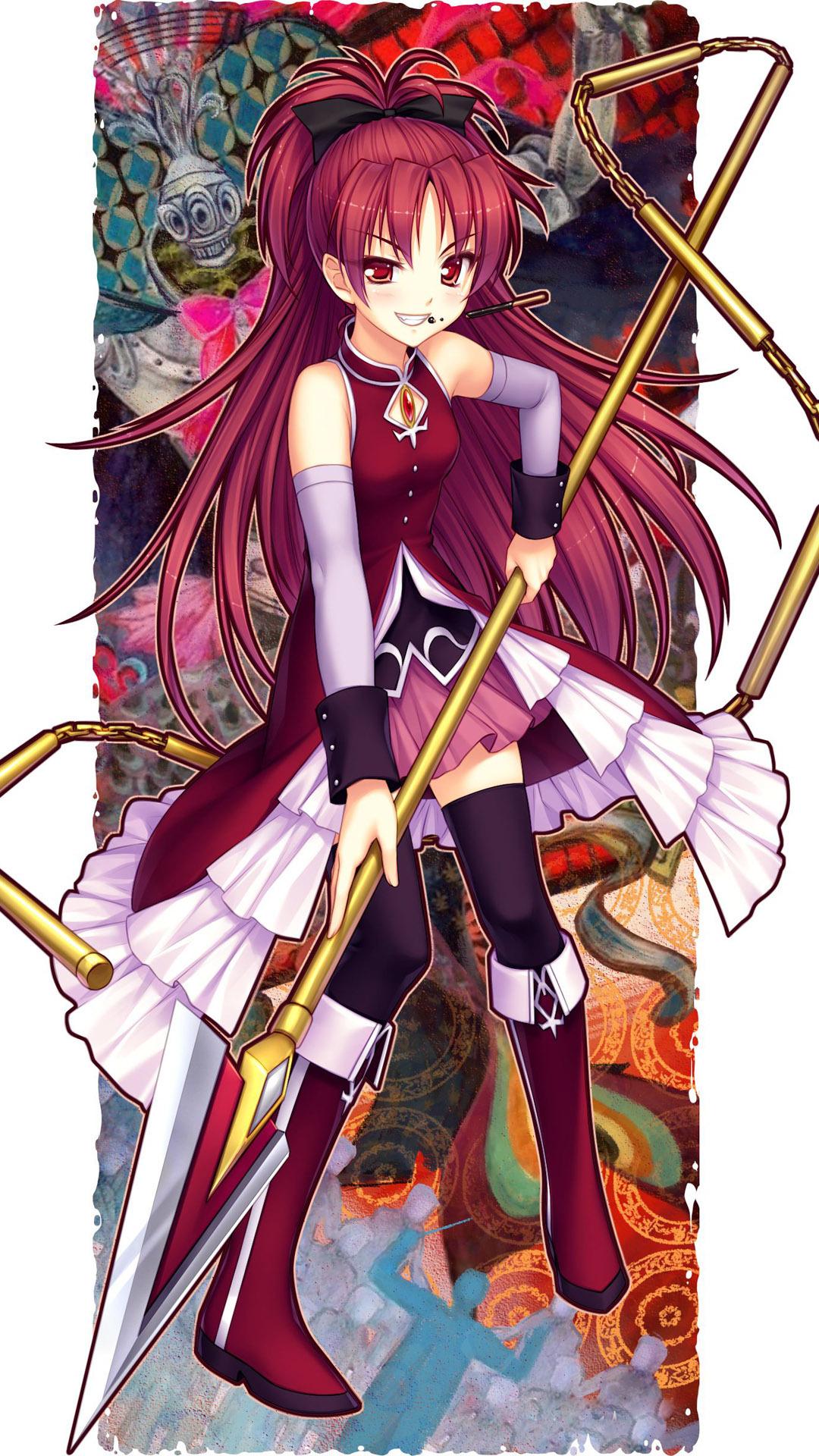 Kyoko-sakura-puella-magi-madoka-magica-anime-mobile ...